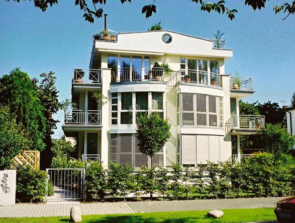 Dachterrassenhaus am Rhein,  Wiesbaden