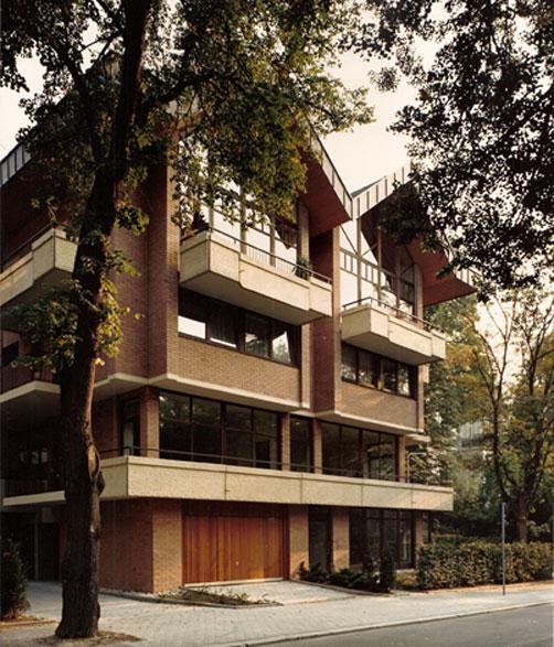Häuser im Haus und Büroetagen,  Parkstrasse Wiesbaden